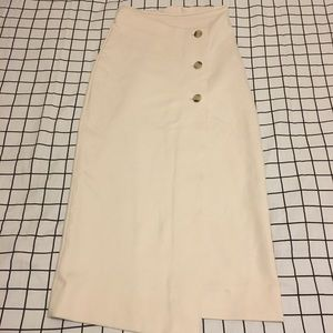 Aritzia Button Up Skirt